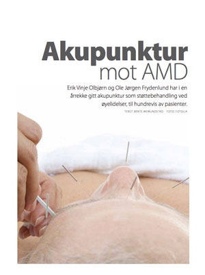 VI OVER 60: Acupuncture for AMD